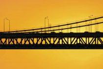 View of Bay Bridge — Stock Photo