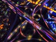 Infinity Intersection of freeways — Stock Photo