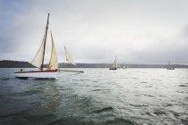 Traditionellen Segelboot — Stockfoto