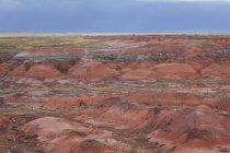 Пофарбовані пустелі скельних утворень — стокове фото