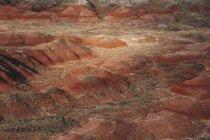 Vista del desierto pintado - foto de stock