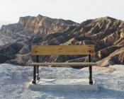 Zabriskie Point à l'aube — Photo de stock