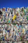 Bundles of plastic bottles — Stock Photo