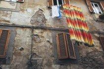Street in Cortona, historic city in Tuscany — Stock Photo