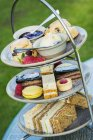 Traditional afternoon tea. — Stock Photo
