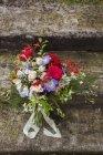 Крупный план свадебного букета — стоковое фото