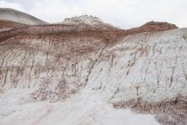 Bentonite Hills of Cathedral Valley — Stock Photo