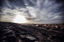 Paysage du désert rocheux — Photo de stock