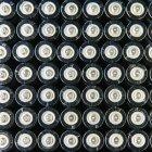 Reihen von Doppel-alkaline-Batterien — Stockfoto