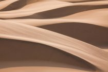 Natural pattern of sand dunes in Namib Desert, Namibia — Stock Photo