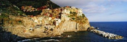 Cinque Terra town of Manarola in Italy, Europe — Stock Photo