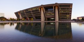Architettura dell'edificio moderno a Dallas, Texas, USA — Foto stock