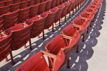 Event seating, Chicago, Illinois, USA — Stock Photo
