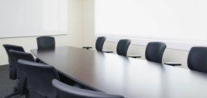 Empty conference room, Bradenton, Florida, USA — Stock Photo