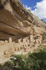 Американських індіанців Скеля жител, Меса-Верде, штат Колорадо, США — стокове фото