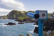 Telescopio a punto di vista nel Devon, Inghilterra, Gran Bretagna, Europa — Foto stock