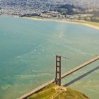 Golden gate bridge di san francisco, california, Stati Uniti — Foto stock