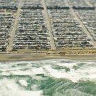 Coastal housing area in San Francisco, California, USA — Stock Photo