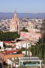 Міські горизонти Старого міста з соборів і будинками, Гуанахуато, Мексика — стокове фото