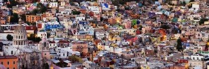 Habitações residenciais em Guanajuato, México — Fotografia de Stock