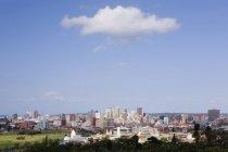 Хмари над Дурбан місто Skyline, Південна Африка, Африка — стокове фото