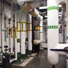 Tuyaux d'eau sous-sol en Everett, Washington, États-Unis — Photo de stock