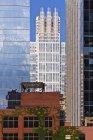 Центр Чикаго будівлі, старий і сучасний, Іллінойс, США — стокове фото