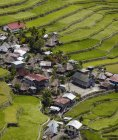 Village of Bataad and rice terraces in Ifugao province of Philippines, Asia — Stock Photo