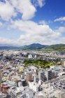 Вид на міський японський міський пейзаж міста Кіото, Японія — стокове фото