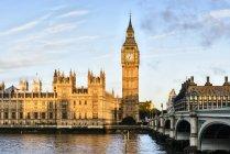 Sonnenaufgang über Big Ben, London, Vereinigtes Königreich — Stockfoto
