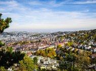 Вид на міський пейзаж Штутгарта Вюртемберг, Німеччина — стокове фото