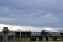 Fort ruins in Fort Casey State Park, Coupeville, Washington, United States — Stock Photo