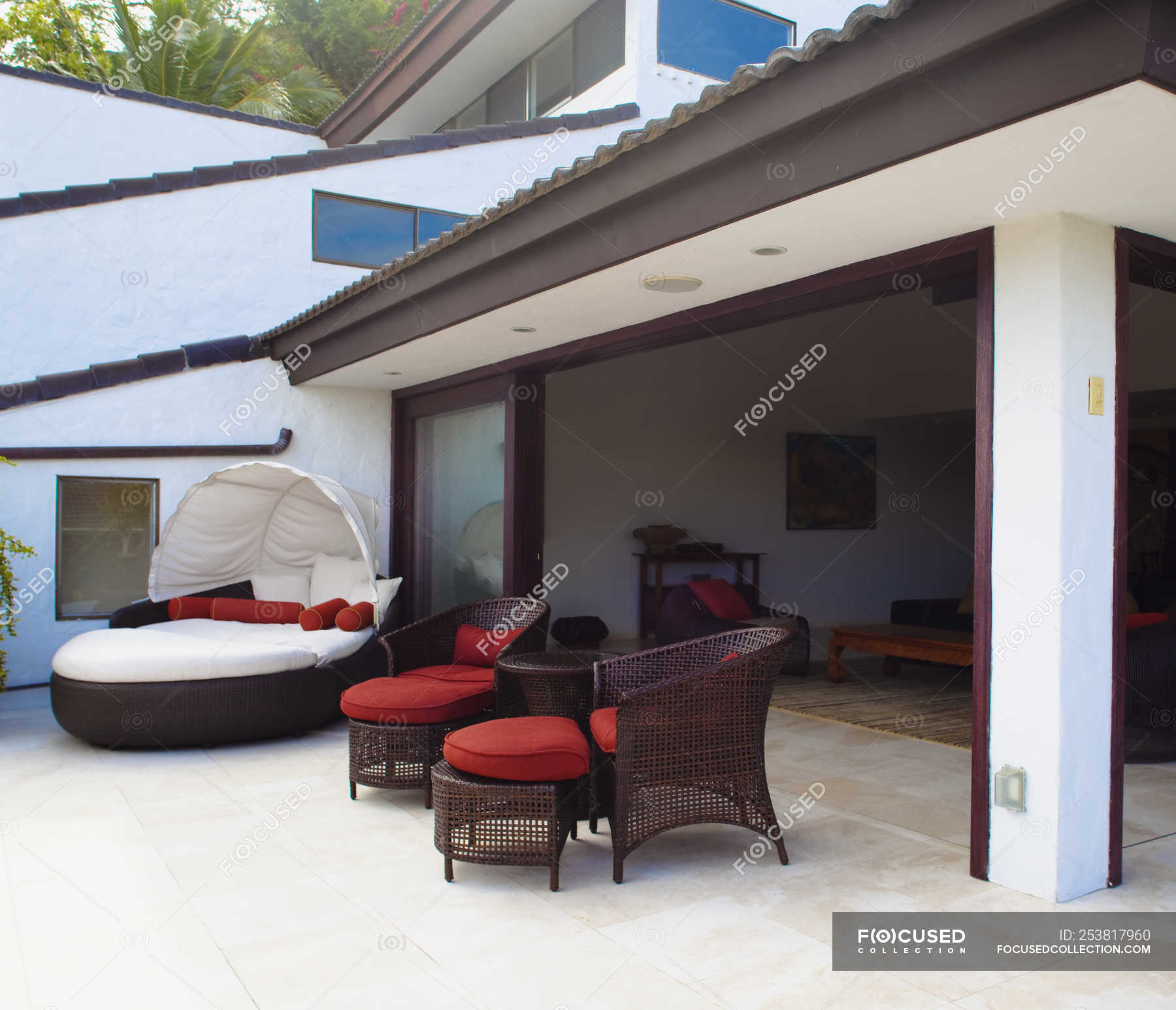 Luxury Patio Furniture In Vacation