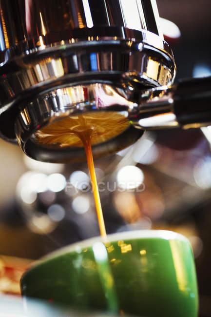 Freshly brewed coffee — Stock Photo