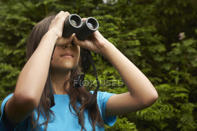 Bird watching Binocoli. — Foto stock