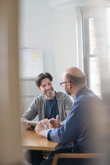Usiness colleagues in an office — Stock Photo
