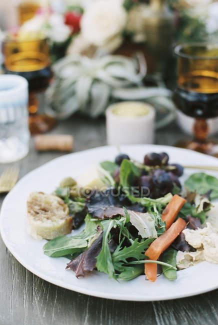 Mahlzeit im Freien in der Wüste — Stockfoto