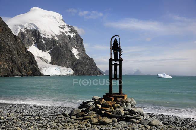 Mit Blick auf die Bucht im Camp Livingston. — Stockfoto