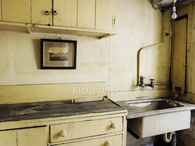 Vecchio stile cucina — Foto stock