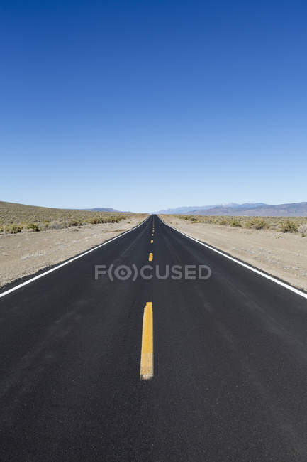 Black top road — Stock Photo