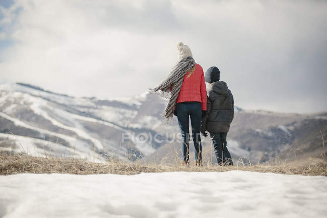 Children standing side by side — Stock Photo