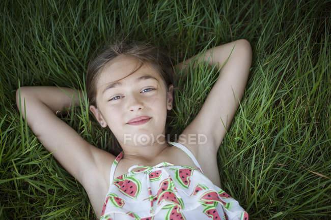 Ребенок на свежем открытом воздухе — стоковое фото