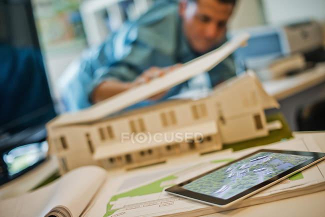 Architekten Modell eines Hauses — Stockfoto