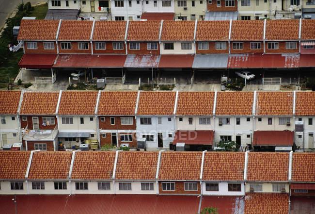 Casas modernas en Borneo - foto de stock