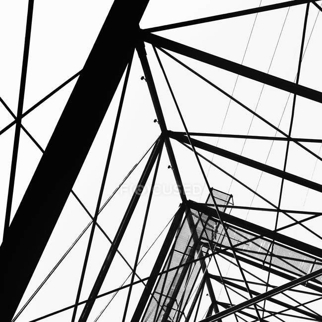 Электричество пилон башня — стоковое фото