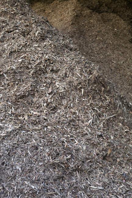 Stored organic waste — Stock Photo
