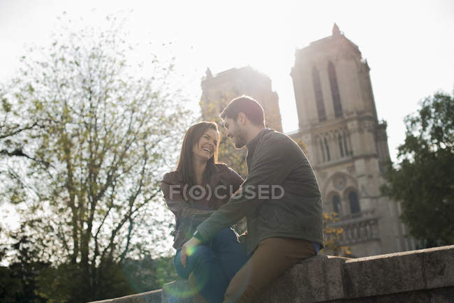 Couple in a romantic mood — Stock Photo