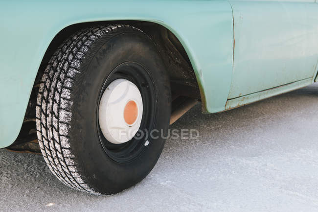 Detail of old pickup truck — Stock Photo