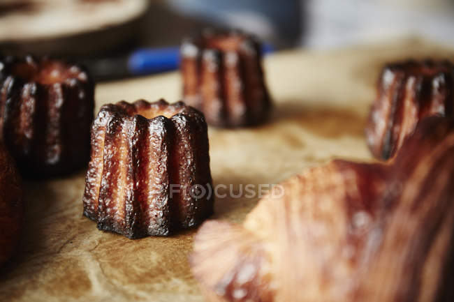 Small cooked pastries — Stock Photo