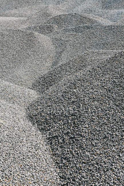 Estacas de cascalho para manutenção de estradas — Fotografia de Stock